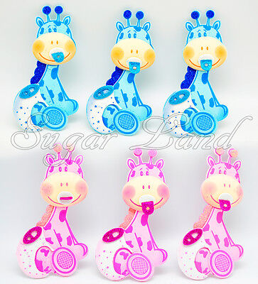 Girl Baby Shower Decor (10 PCS Baby Shower Giraffe Centerpiece Decoration Foam Girl Boy Safari Favors)