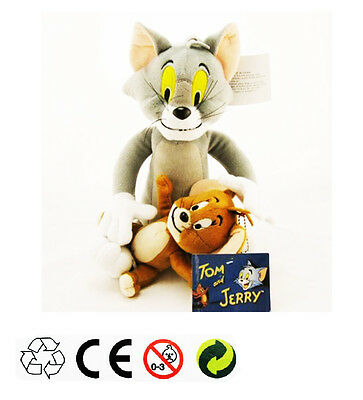 Tom & Jerry Plush Doll Soft Cute Stuffed Cartoon Anime Cat & Mouse Toy Xmas Gift