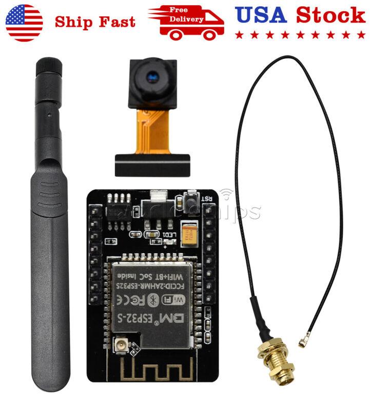 Esp32-cam Wifi Bluetooth Development Board + Camera Module With Antenna