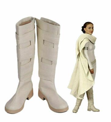 Star Wars 2 Padme Amidala Queen Amidala Cosplay Boots Shoes