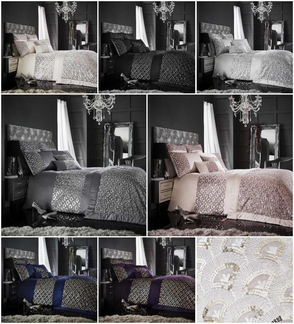 Tessella Embroidery Laces Luxury Duvet Covers Bedding Sets /