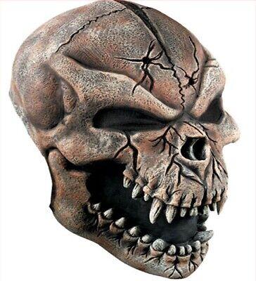 Werwolf Totenkopf 3/4 Maske Horror Werwolfmaske Halloween Karneval Mundschutz