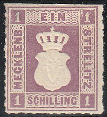 Mecklenburg-Strelitz Nr. 3 ungestempelt geprüft