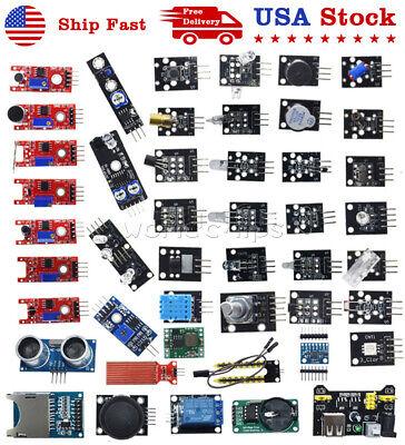 45 In 1 Sensor Module Starter Kit Set For Arduino Raspberry Pi Education Diy