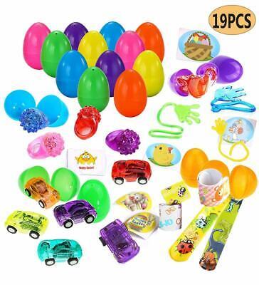 Prefilled Easter Eggs, Asstd Colors Plastic 1.82
