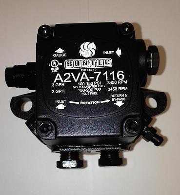 New Suntec Oil Burner Pump A2va 7116 A2va7016 Beckett Wayne Factory Fresh Oem