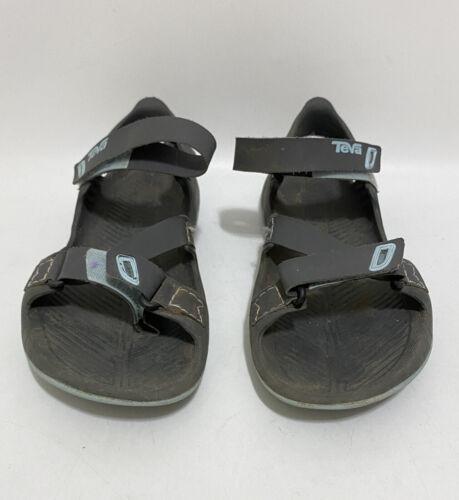 Teva barracuda sandales femmes taille 9 gris bleu sport randonnée extérieur eau