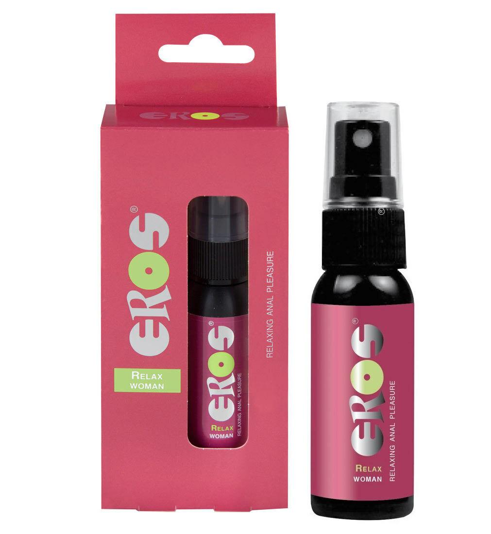 EROS Relax Woman Anal Spray entkrampfend Entkrampfungsspray Gleitgel 30 ml