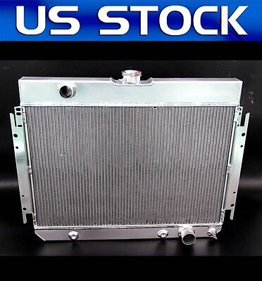 JDN RACING FIT 64  CHEVY Biscayne El 3 ROWS ALL ALUMINUM RADIATOR