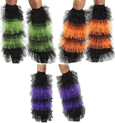 Tulle Ruffle Adult Women Boot Cover Sexy Sassy Tulle Retro Theme Party - Boot Themen Kostüm