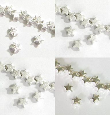 STERLING SILVER TWINKLE STAR BEAD CONNECTOR SPACER 5MM (Twinkle Star)