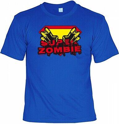 Halloween T-Shirt - Super Zombie - gruseliges Sprüche Shirt für Halloween Party