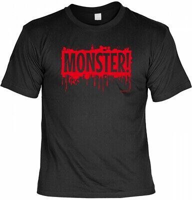 Monster - gruseliges Sprüche Shirt für die Halloween Party (Halloween Sprüche)