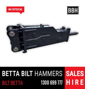 BETTA BILT HAMMERS 14 TONNE EXCAVATOR ROCK BREAKERS IN STOCK Smeaton Grange Camden Area Preview