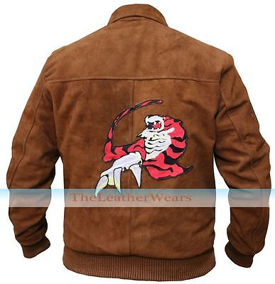 Hazuki Shenmue Ryo Brown Suede Leather Jacket <All Sizes>