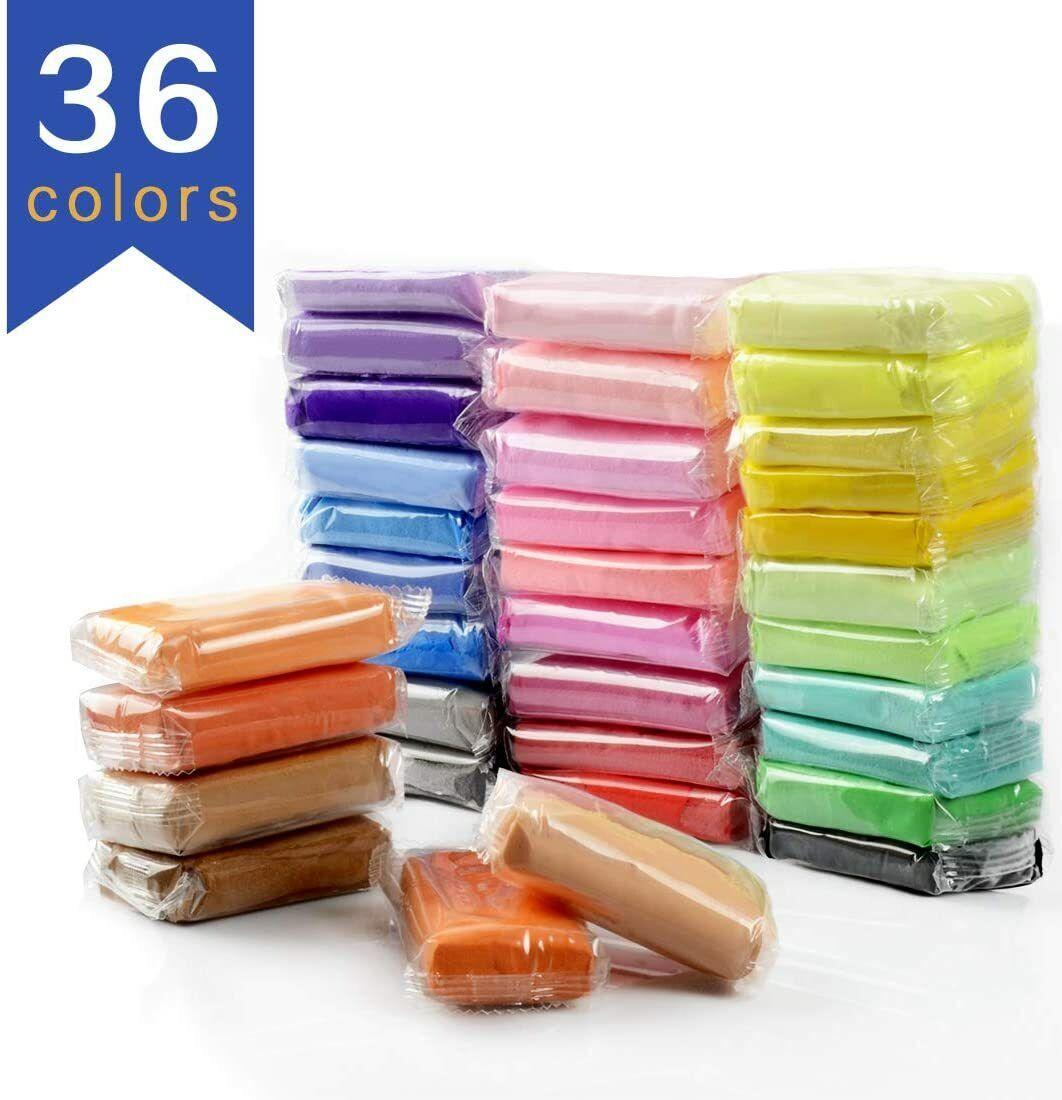 Air Dry Clay DIY 36 Colors Ultra Light Modeling Clay Magic C