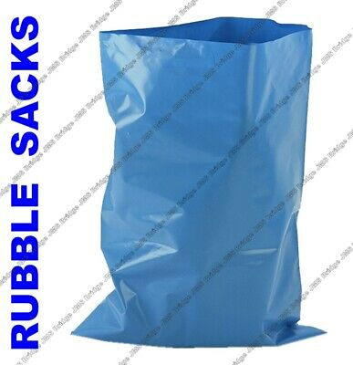 50 HEAVY DUTY RUBBLE SACKS BUILDERS BAGS GARDEN BRICKS TILES ULTIMATE STRENGTH