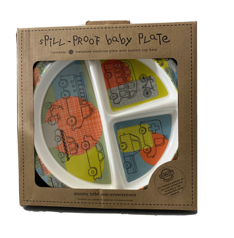 NEW Sugarbooger Divided Suction Plate, Hedgehog