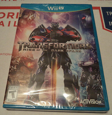 Transformers  Rise Of The Dark Spark  Nintendo Wii U  2014  New Sealed