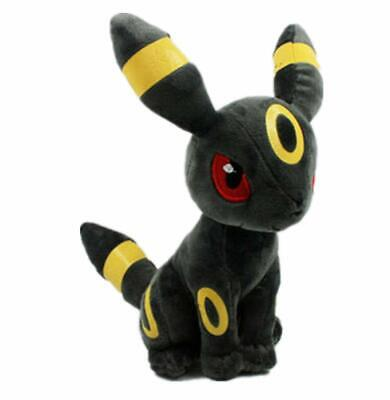 "Pokemon Umbreon Eevee Evolution Plush Stuffed Animal Toy 8"" Kids Gift NY Seller"