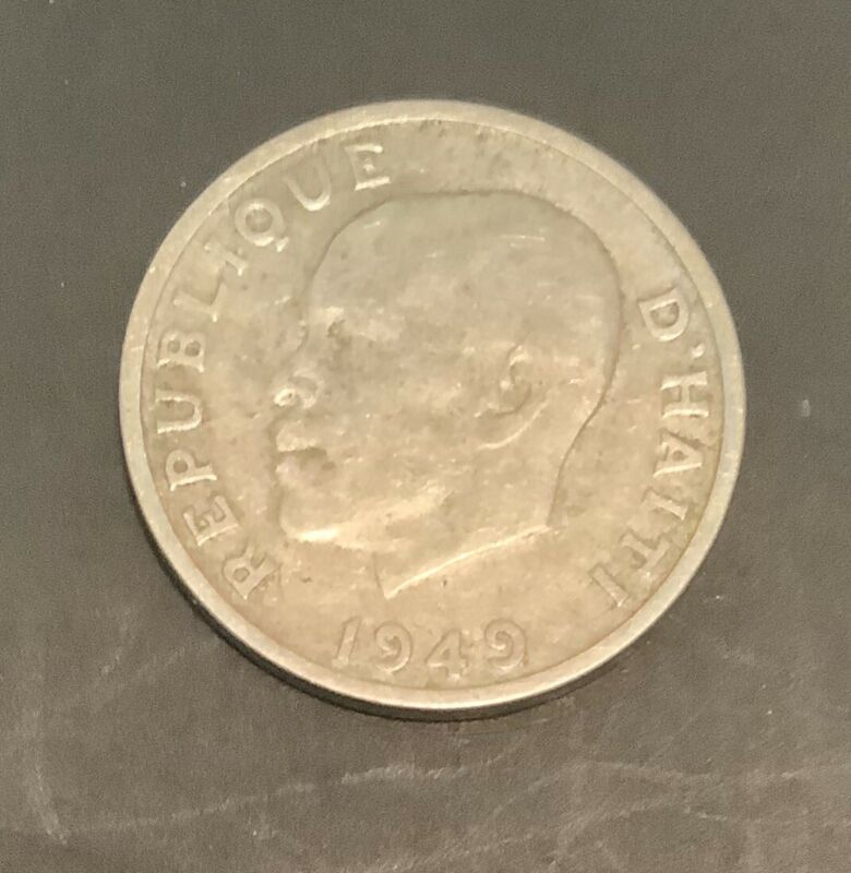 Haiti Coin Ten Centimes 1949
