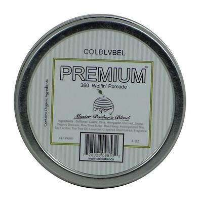 Cold Label Wolfin Premium Hair Pomade Wave 360 360 Wave Pomade