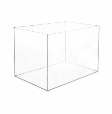 Acrylic Rectangular Display Case Display Box Acrylic Show Case Clear Cases