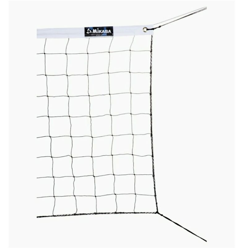 Mikasa VBN-2 Competition Volleyball Net Indoor Outdoor  32' x 3' NEW