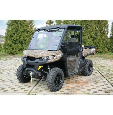 QUADBOSS HARD CAB ENCLOSURE CAN-AM DEFENDER HD8, HD10 16-18  CHECK FIT 373483