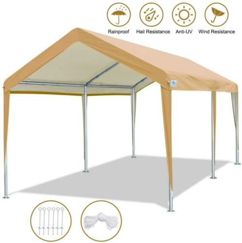 10'x 20' Heavy Duty Carport Canopy Party Wedding Garden Tent