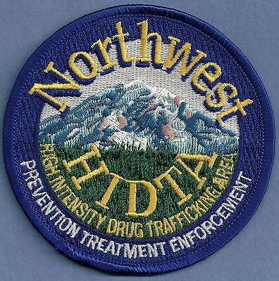 DEA DRUG ENFORCEMENT ADMINISTRATION NORTHWEST HIDTA  POLICE PATCH