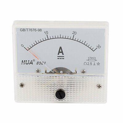 85c1 Analog Current Panel Meter Dc 30a Amp Ammeter