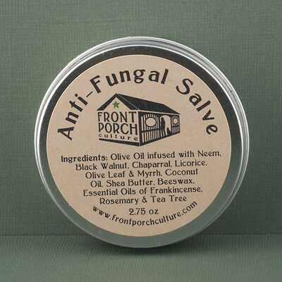 Anti Fungal Salve With Neem  Black Walnut  Chaparral