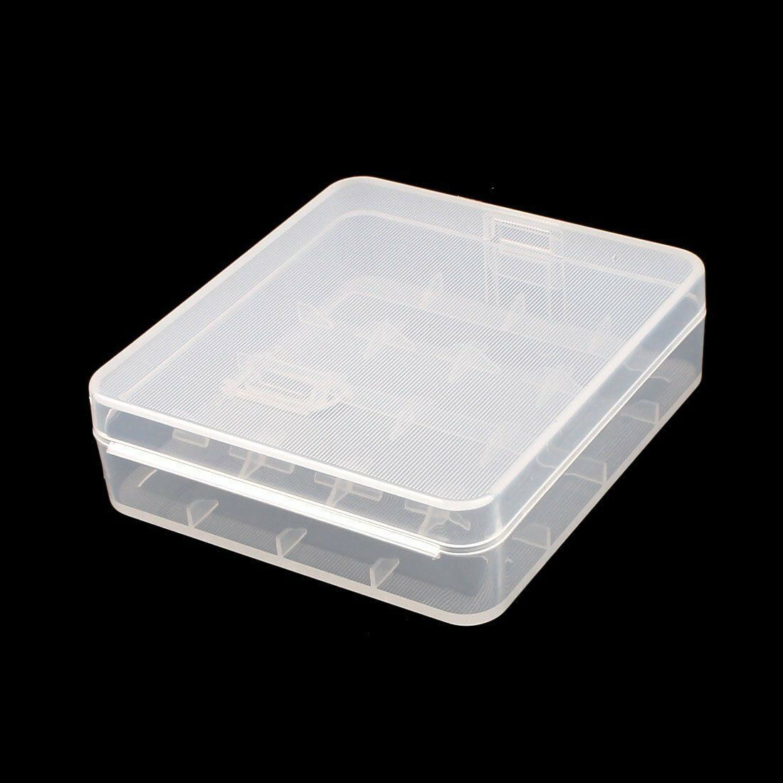 8 Pcs Clear White Plastic Storage Battery Box Holder Case for 4x 18650 Batteries Consumer Electronics