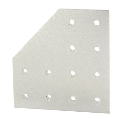 8020 Inc T-slot Aluminum 12 Hole 90 Degree Angled Flat Plate 15 Series 4328 N