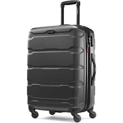 "Samsonite Omni Hardside Luggage 24"" Spinner - Black (68309-1041)"