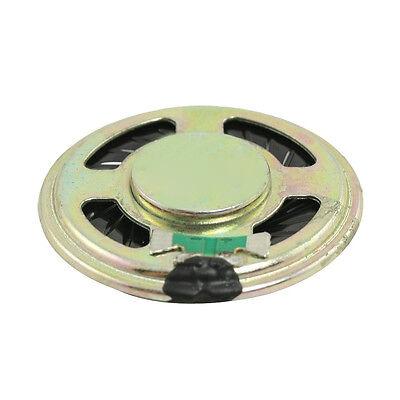 """1.4"""" Diameter Aluminum Shell Round Slim Internal Magnet Speaker 8 Ohm 0.5W N3"""