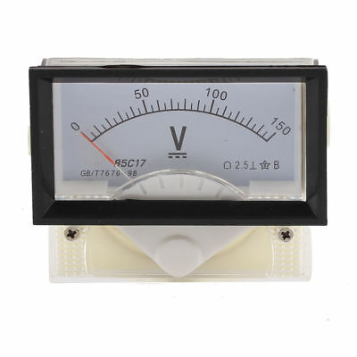 New Dc 0-150v Analog Dial Panel Meter Voltmeter Gauge Voltage Meter 7060