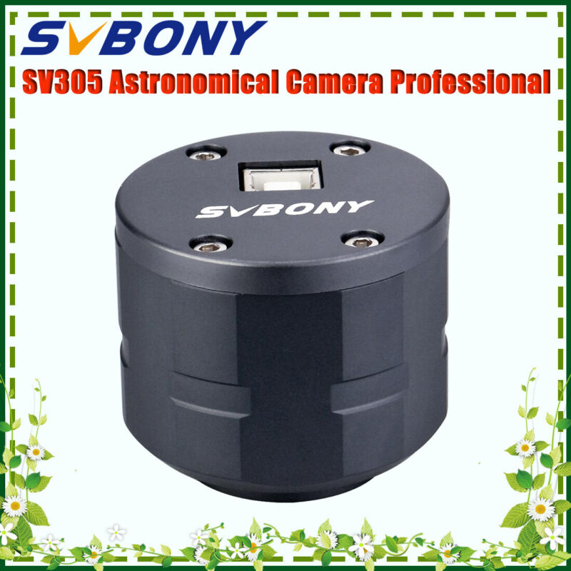 """SV305 Astronomy Camera 1.25"""" 2MP Electronic Eyepieces for Planetary Photography"""