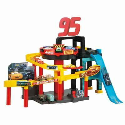 Takara Tomy Disney Cars Tomica Action Course Round Elevater Racing Center
