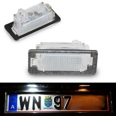 LED KENNZEICHENBELEUCHTUNG p.f. BMW 1er E82 Coupe E88 Cabrio 4er F32 F33 A01-1