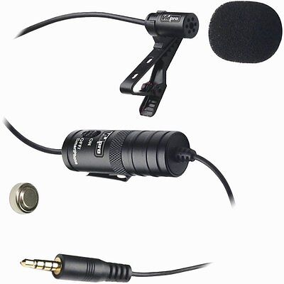 VidPro Professional Lavalier Condenser Microphone Smartphone iPhone XM-L DSLR