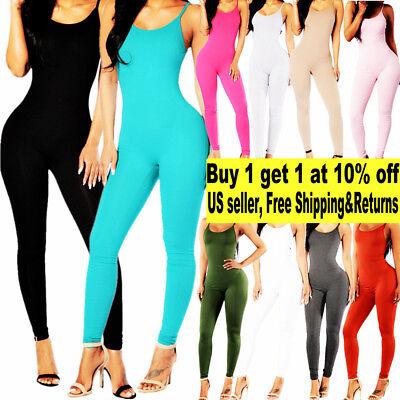 Women Jumpsuit Romper Bodycon Playsuit Clubwear Long Party US Pants - Womens Clubwear