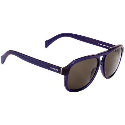 Tommy Hilfiger Acetate Frame Brown Lens Men's Sunglasses TH1468S0GEG705816