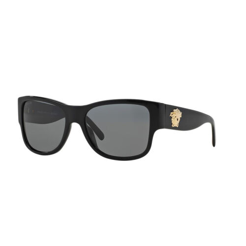 Versace Women's VE4275-GB1/81-58 Black Butterfly Sunglasses