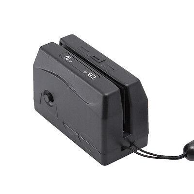 Mini300 Dx3 Portable Magnetic Magstripe Card Reader Collector