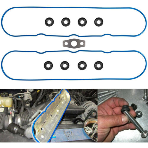 Valve Cover Gasket for 1999~2016 GM/Isuzu/Saab 4.8L 5.3L 5.7L 6.0L 6.2L 7.0L V8