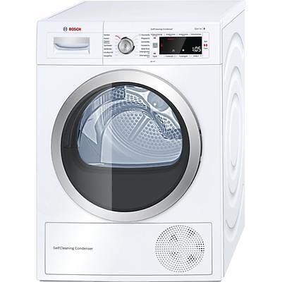 Bosch WTW875W0 8 kg A+++ Wärmepumpentrockner, SelfCleaning Condenser, Knittersch