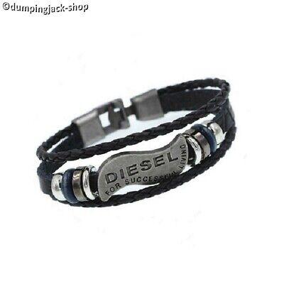 Armband für Damen Herren Teenager mehrfach geflochtenes Armband Ankerverschluss