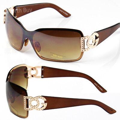 New WB Womens Mens Sunglasses Shades Fashion Designer Around Shield Retro (Shield Shades)